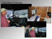 Highlight for Album: Snow Plow Simulator Training with Arizona Department of Transportation's Richard Powers